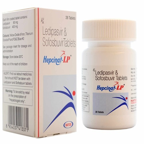 Sofosbuvir with ledipasvir tablets