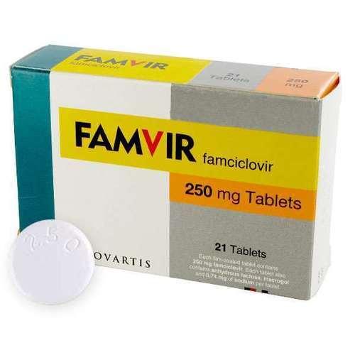 Famvir Famciclovir Tablets