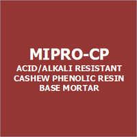 Mipro-Cp Acid-Alkali Resistant Cashew Phenolic Resin Base Mortar