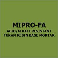 Mipro-Fa Acid-Alkali Resistant Furan Resin Base Mortar