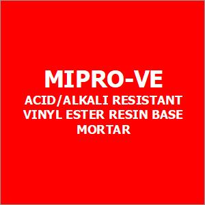 Mipro-Ve Acid-Alkali Resistant Vinyl Ester Resin Base Mortar