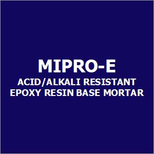 Mipro-E Acid-Alkali Resistant Epoxy Resin Base Mortar