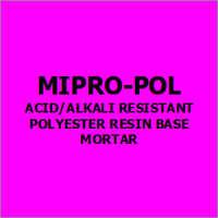 Mipro-Pol Acid-Alkali Resistant Polyester Resin Base Mortar