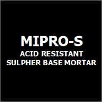 Mipro-S Acid Resistant Sulphur Base Mortar