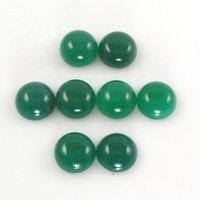 12mm Green Onyx Round Cabochon Loose Gemstones
