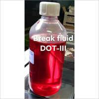 Brake Fluid Dot-III Oil