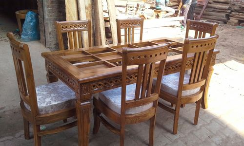Wooden Dining Chair Table