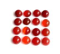 9mm Red Onyx  Round Cabochon Loose Gemstones