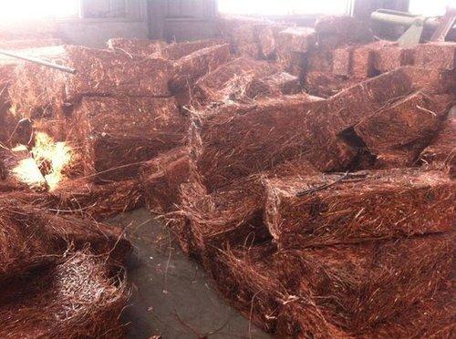 99.9% Pure Millberry Copper Wire Scrap