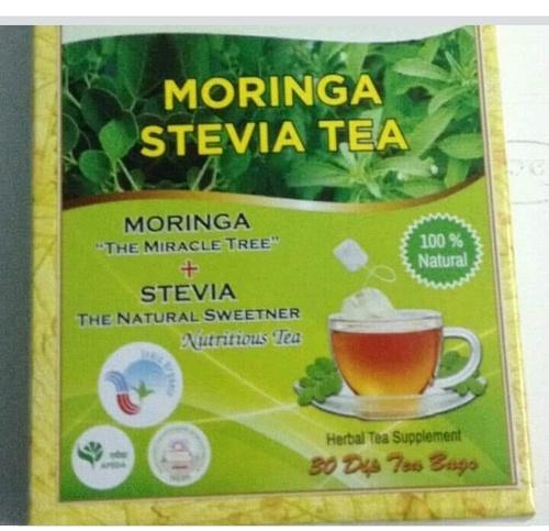 Natural Moringa  Stevia Dip Tea