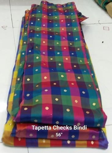 Taffeta Checks Bindi