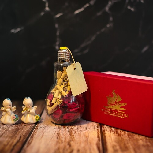 Personalized Love Bulb with Message