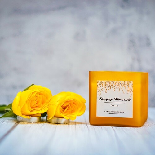 Square Wick Candle