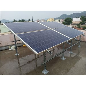 Roof Top Solar Panel Structure