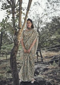Ladies Casual Manipuri Silk Saree