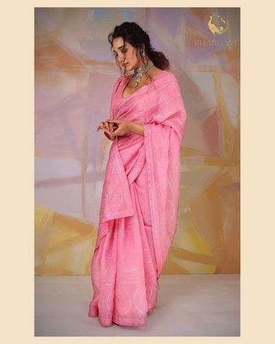 Ladies Organza Silk Saree