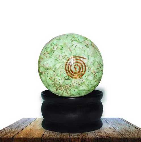 Amazonite Chips Orgone Sphere