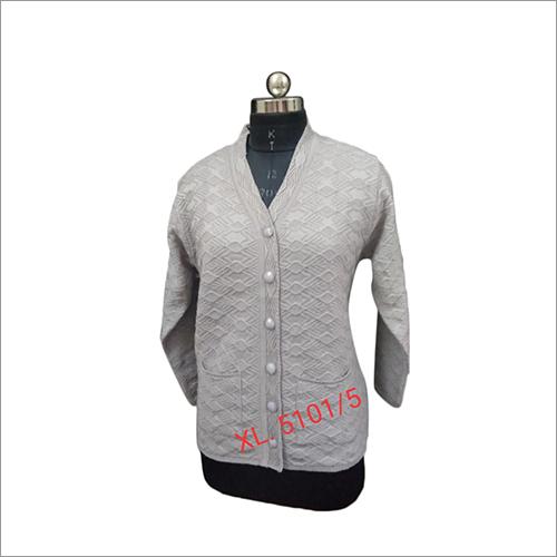 XL Size  Ladies Full Sleeve Cardigan