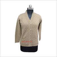 Ladies Full Sleeves Cardigan