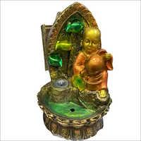 Laughing Buddha Backflow Incense Burner