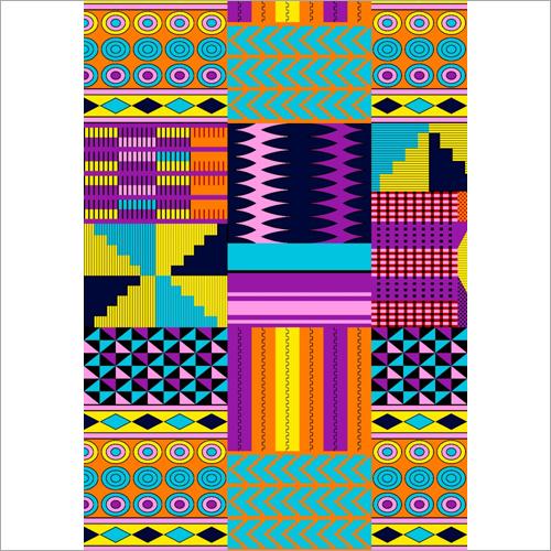African Kente Fabric