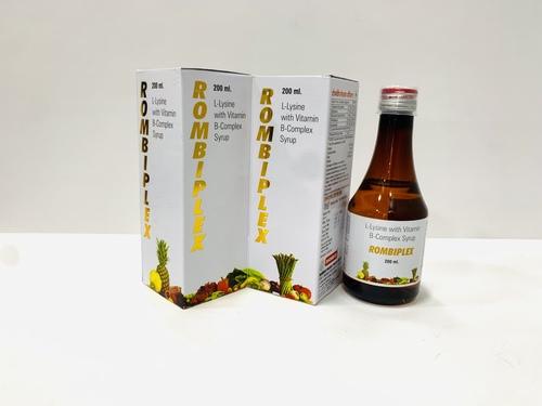 L-Lysine with vitamin B-Complex syp
