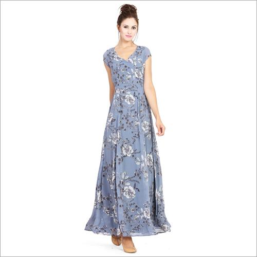 Ladies Multicolored Dress