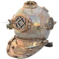 Antique Diving Helmet Mark V Collectible Nautical Divers Helmet Decor Gift