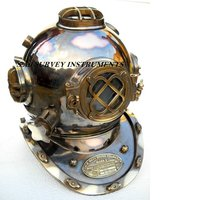 Antique Vintage Diving Helmet Mark V Collectible Nautical Divers Helmet Decor Gift