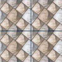 Inly Brown Semi Porcelain Floor Tiles
