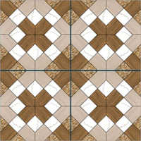 Balsa Wood Semi Porcelain Floor Tiles