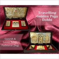 Ganesh And Laxmi Balaji Padmavat  Puja Dabbi