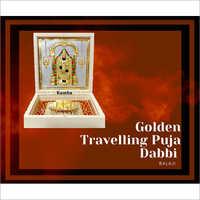 Balaji Golden Travelling Puja Dabbi