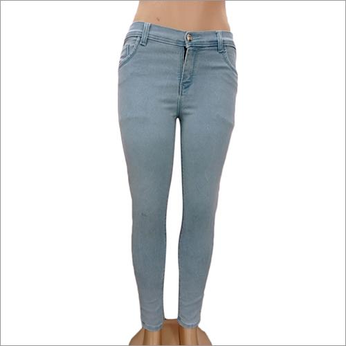 Ladies Light Shaded Denim Jeans