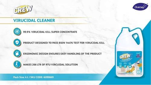 Diversey Crew Virucidal Cleaner - Broad Spectrum Terminal Disinfectant