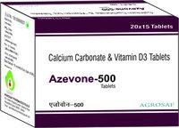 Elemental calcium 500mg + vitamin D3 IP 250 IU