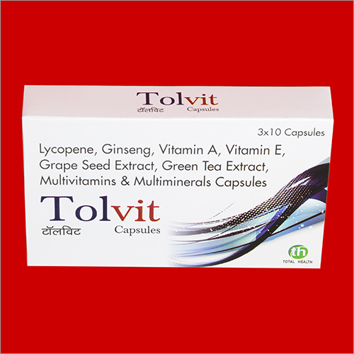 Lycopene Ginseng Vitamin A Vitamin E Grape Seed Extract Green Tea Extract Multivitamins And Multiminerals