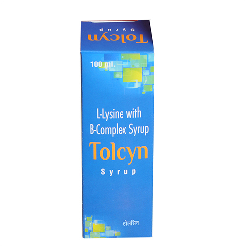 100 ML L-Lysin With B-Complex Syrup