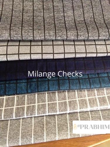 Melange Check Fabrics