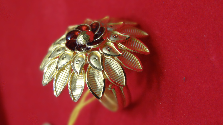 Adjustable Gold Fancy Ring