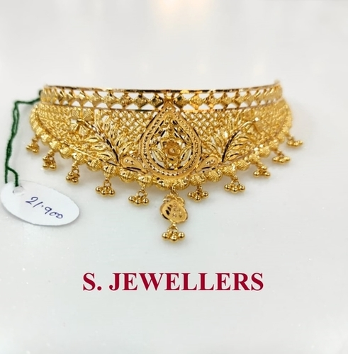 Traditional Gold Antique Necklace