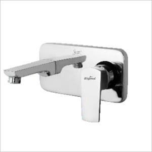 Single Lever Wall Mounted Model With Bath Spout Tap
