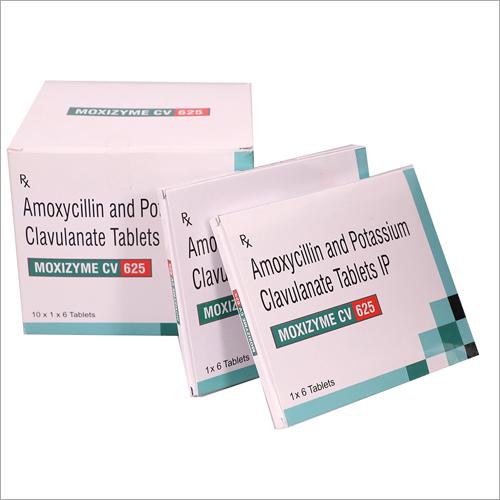 Amoxicillin and Potassium Clavulanic Tablets
