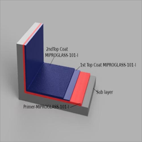 Miproglass 101-I Flake Glass Reinforced Coating