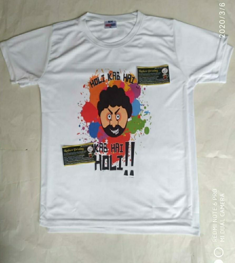 Holi Printed Tshirts