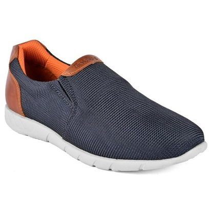 Breathable Mens Navy Casual Shoes