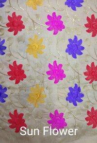 Banglori Multi Flower Embroidery