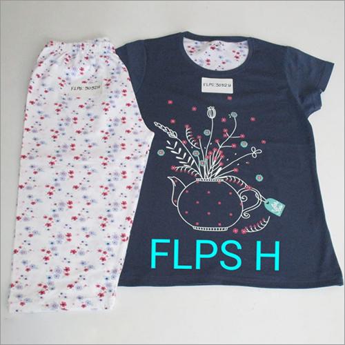 Ladies Fancy Pyjama Set