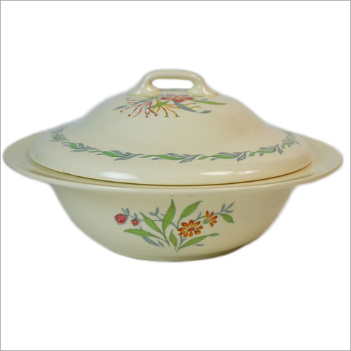 Ceramic Serving Bowl With Lid