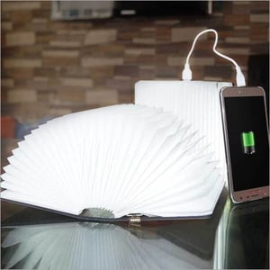 Book Lamp With Power Bank
